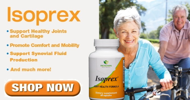 NEW AND IMPROVED Isoprex: Support Healthy Joints and Cartilage: SHOP NOW